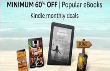 Kindle Monthly Deals: Minimum 60% Off On Popular eBooks