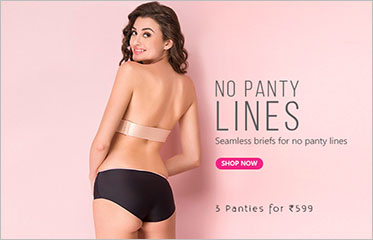 756aca722b Panty Offer  Get 3 Panties For Rs 599   Clovia Panty Offer  Get 3 Panties  For Rs 599   Clovia. The offers page contains Shop By Style